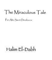 Score cover The Miraculous Tale